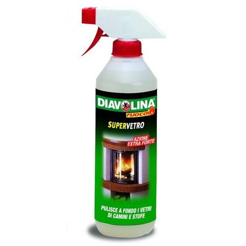 Super Glass Cleaner Spray 500 ml Diavolina