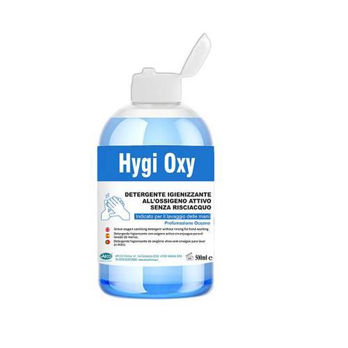 Active Oxygen Hand Sanitizer Detergent 500 ml HYGI OXY AR-CO Chimica