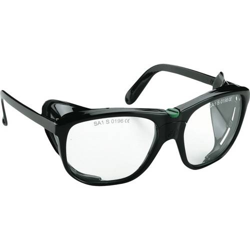 Transparent glasses lenses in Tempered Glass with Protections Lateral Sacit 317N 161086