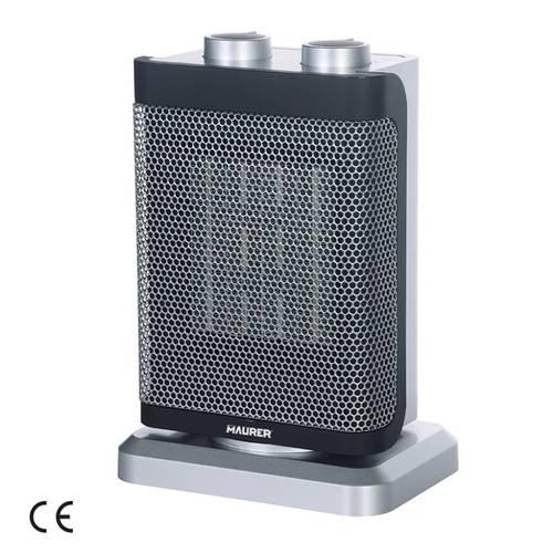 Electric heater ceramic fan heater 750/1500 W Sikinos 99661 Maurer