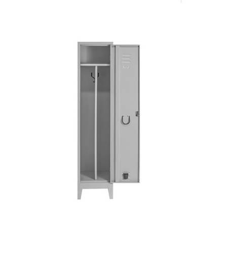 Clean Dirty Dressing Room Sheet Metal Wardrobe 1 Seat 40x38x180 cm SPP044 Coarme