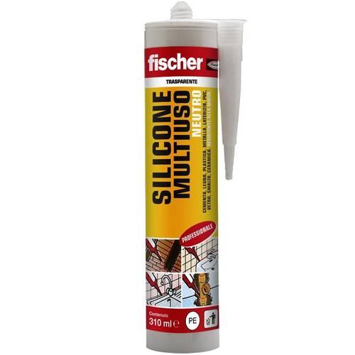 310ml Fischer Transparent Neutral Silicone