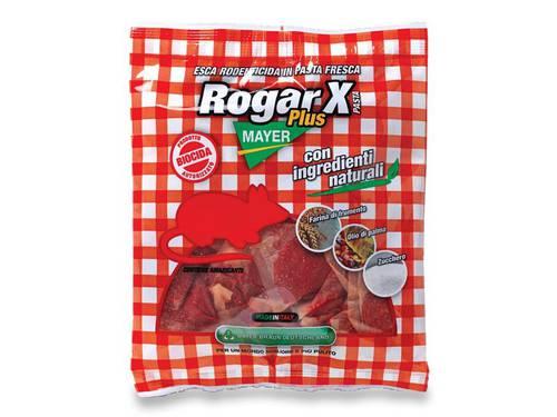 Rodenticidal Esca Topicida Veleno Topi in Pasta Rogar X Plus Pasta 500gr Mayer Braun