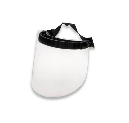 BELLAVISTA Protective Face, Eyes and Nose Visor with Sanitizable PET Screen