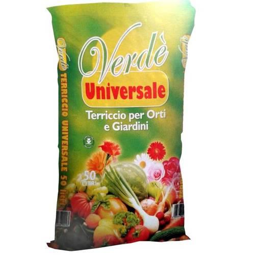 Universal soil for gardens and gardens GREEN 'Al.Fe
