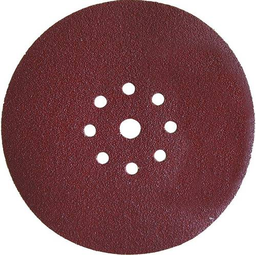 Abrasive Drilled Velcro Disc D.225mm