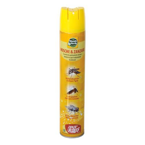 Insecticide Spray Flies and Mosquitoes ml.500 Green World