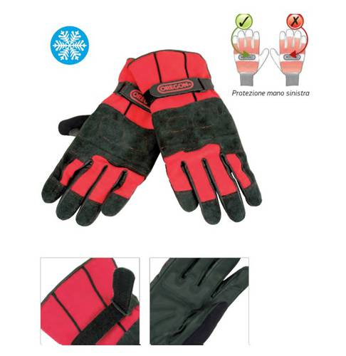 Protective Gloves for Chainsaw Fiorland 295485 Oregon