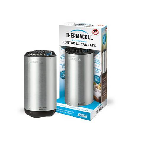 Scaccia Mosquitoes Garden Mosquitoes Acti Zanza Break MINI HALO METAL Thermacell Activa