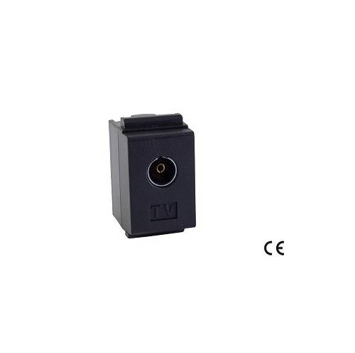 Coaxial SAT / TV socket TV through IEC Type Female Maurer