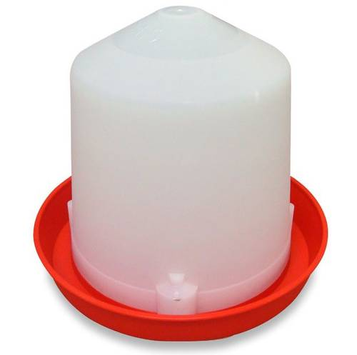 Abbeveratoio in Plastica 5 liters per polli