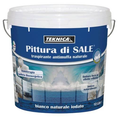 Salt Painting Lt.4 Breathable Antimuffa Naturale Teknica