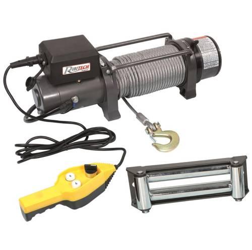 Electric Winch 12V Fix PE12V / 9000 Ribimex