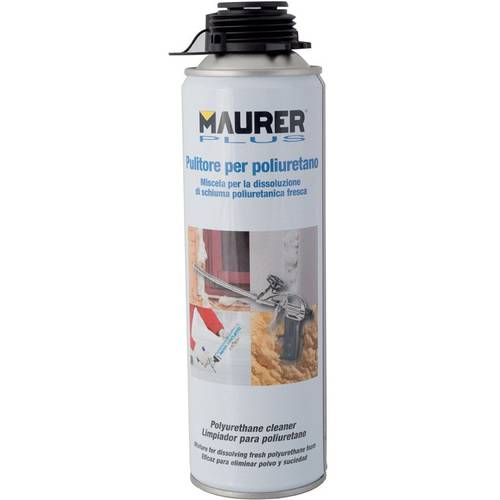 Cleaner for Polyurethane Foam 500ml Maurer Plus 088906
