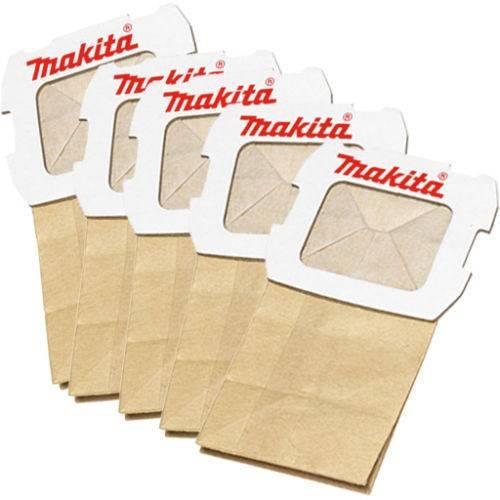 5x Paper Bag for 134246-0 Makita 194746-9