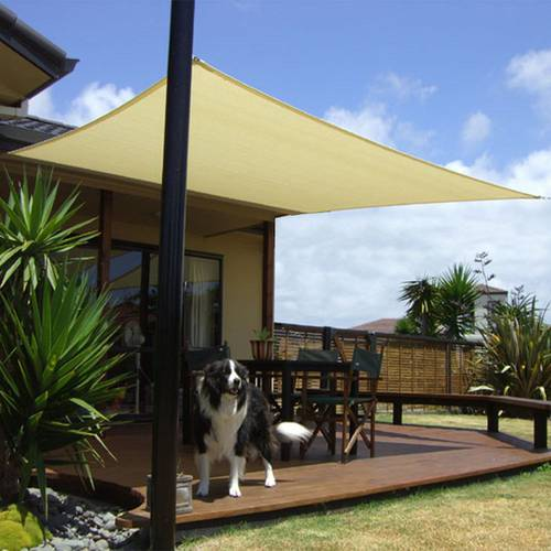 Square Shade Sail Shade for Garden 3,6x3,6 m 97870 Papillon