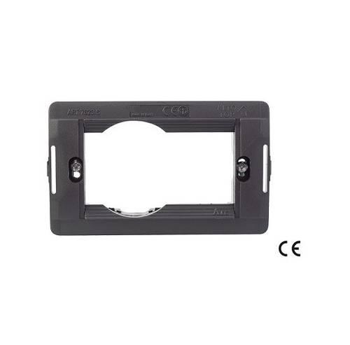 Schuko Plate Support 1 Place Rectangular Box 3P STANDARD 52466 Maurer