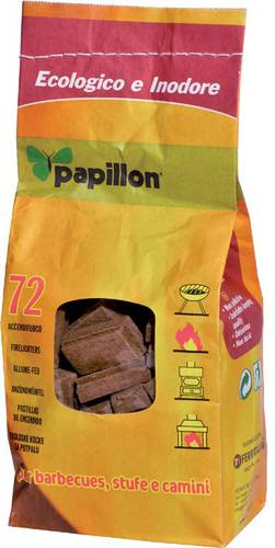 Fire-lighter in Sack 72 Cubes Papillon