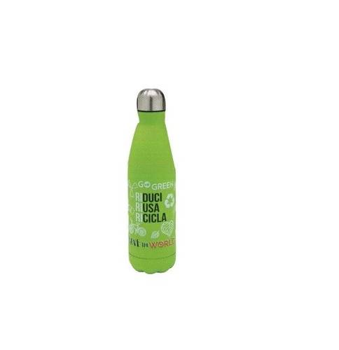 Thermos Thermal Bottle with Hermetic Closing 500ml Brandani Hot Cold