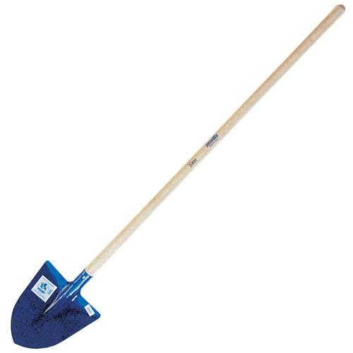 Shovel in Punta hardened with handle 084,660 Ausonia