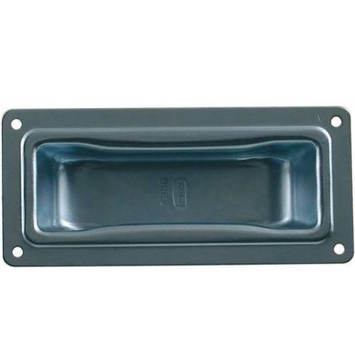 Small Inclined Handle mm.115x52 Zinc. Art.511F