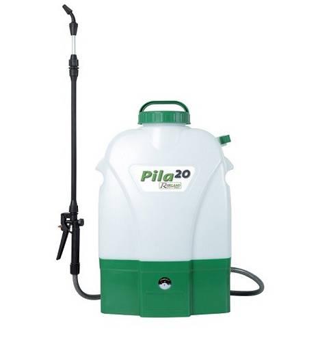 "Battery-powered ""Pila"" Shoulder Pump 20Lt PRP200DE Ribimex"