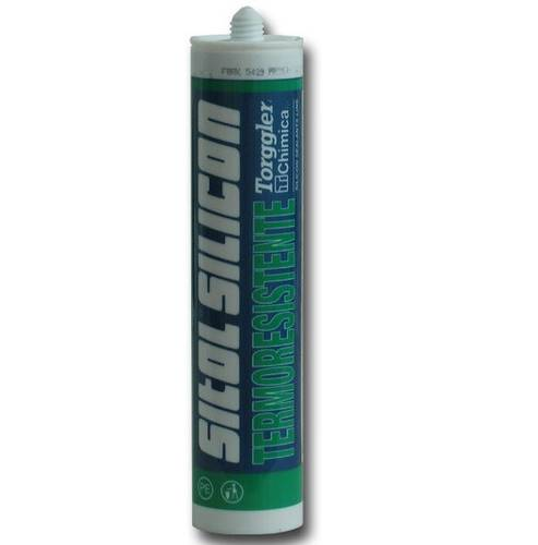 Red Heat-resistant Sealant with Acetic cross-linking 310ml Torggler