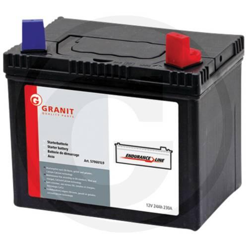 12V 24AH Starting Battery for Tractor Art.5796U1L9 Granit