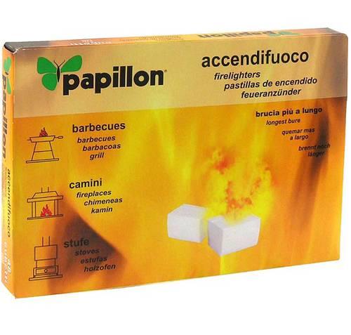 Accendifuoco PAPILLON 48 Cubetti per Legna e Carbone