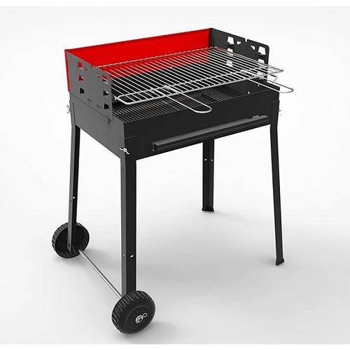 Round Charcoal Barbecue for Garden Camping with Wheels YUPIK Papillon_QD6UxgGnEasg_mAoY7HWUdn1U