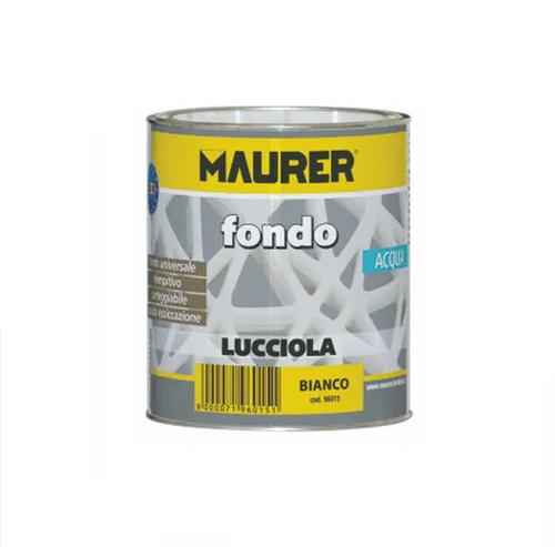 Glossy Water-based Enamel for Iron Wood Cement Plastic 750ml LUCCIOLA Maurer_TjReobfVBsql
