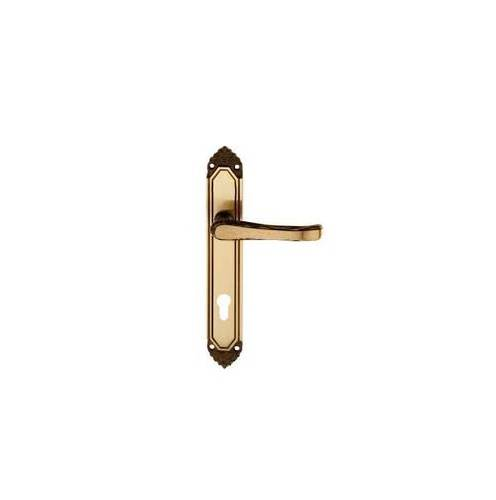 Handle in Smoked Brass Plate Yale ø Interior 85 mm Lady