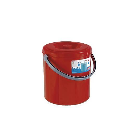 """Dustbin """"Eureka"""" with lid Stefanplast"""