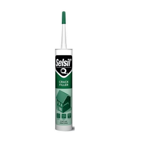 Silicone White Acrylic Sealant Plaster Effect Joints Cracks Cracks 310ml AC604 Akfix_VCnl8lg85yVW