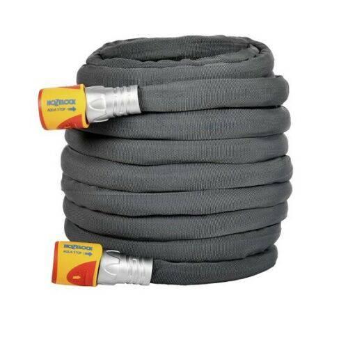 Tubo Gomma da Giardino Ibrido PVC e Tessuto 25m 8125 TUFFHOZE Hozelock